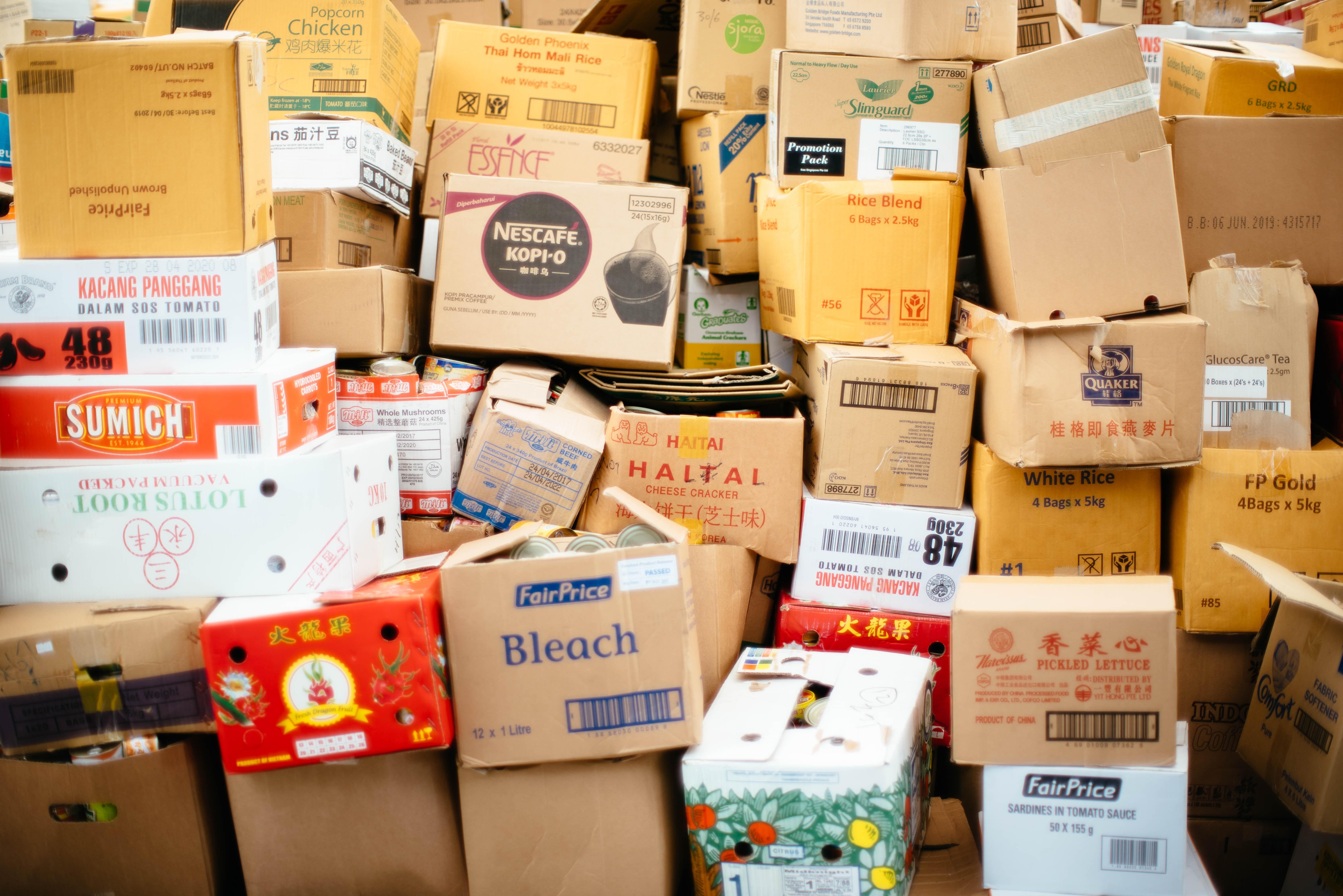 forsendelse af pakker privat